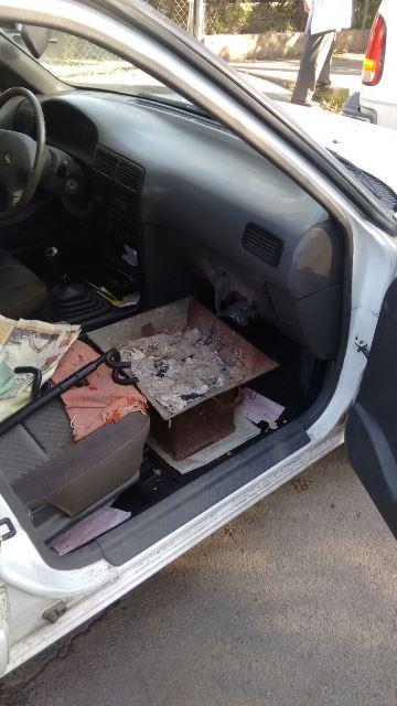 ¡Suicidio 118 en Aguascalientes: hombre se intoxicó con un brasero dentro de su auto!