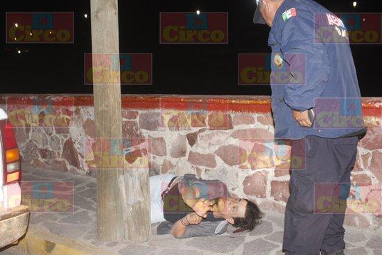 ¡Severa golpiza recibió un parroquiano al salir de un antro en Lagos de Moreno¡