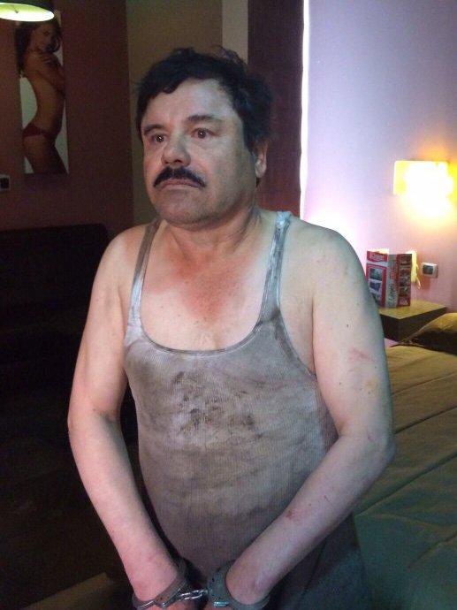 ¡A sangre y fuego capturan a El Chapo Guzmán en Los Mochis, Sinaloa!