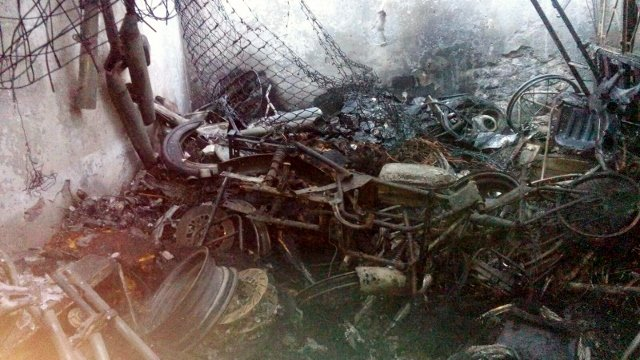 ¡Calcinado murió comerciante al incendiarse una bodega en Aguascalientes!