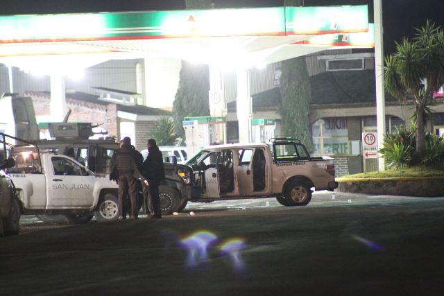 GALERIA/¡Balacera entre policías municipales y ministeriales de Aguascalientes en San Juan de los Lagos!