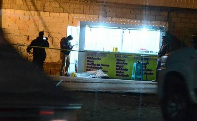 ¡Ejecutaron a balazos a un hombre con armas de fuego largas en Zacatecas!