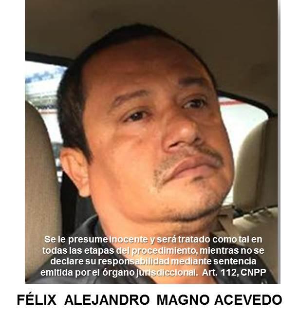 ¡Policía Federal detiene a Félix Alejandro Magno Acevedo líder del cártel de Acapulco en Ecatepec!