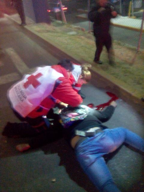 ¡Joven motociclista se mató tras una caída en Aguascalientes!