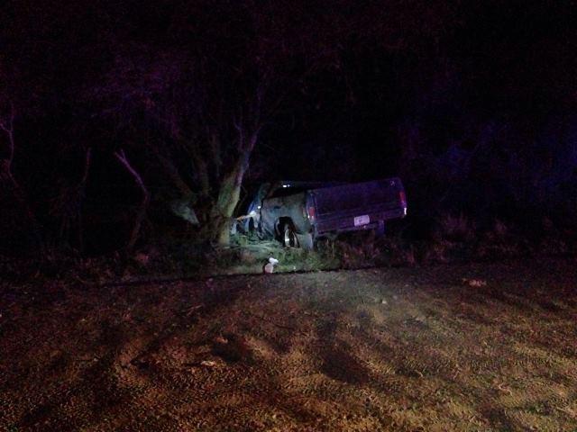 ¡Trágica volcadura de una camioneta en Aguascalientes: 1 muerto!