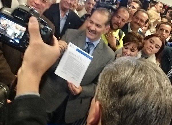 ¡Presenta Martín Orozco registro como precandidato del PAN a la gubernatura de Aguascalientes!