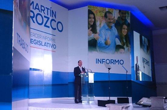 ¡Martín Orozco presentará licencia al Senado de la República para encabezar un proyecto por Aguascalientes!