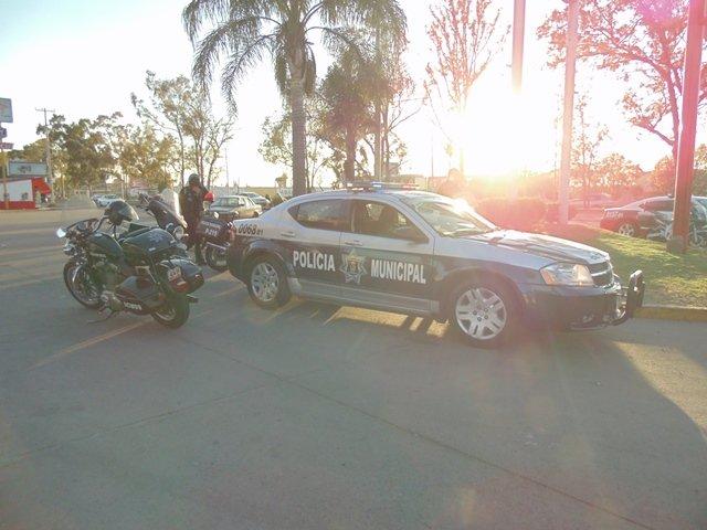 ¡Reaparecen los asaltantes de la motocicleta y atracaron a 2 cuentahabientes en Aguascalientes!