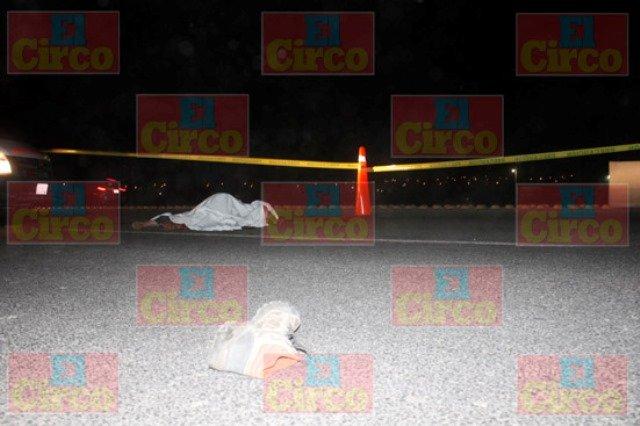¡Adulto mayor murió atropellado espantosamente en Lagos de Moreno!