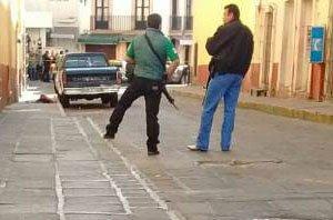 ¡Ejecutaron a balazos a una mujer comerciante en el Centro Histórico de Zacatecas!