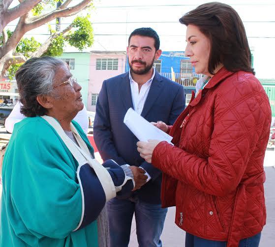 ¡Lorena Martínez quiere un Aguascalientes con salud!
