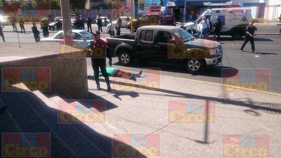 ¡Llega a dos muertos la cifra del fallido asalto afuera de un banco en Aguascalientes!