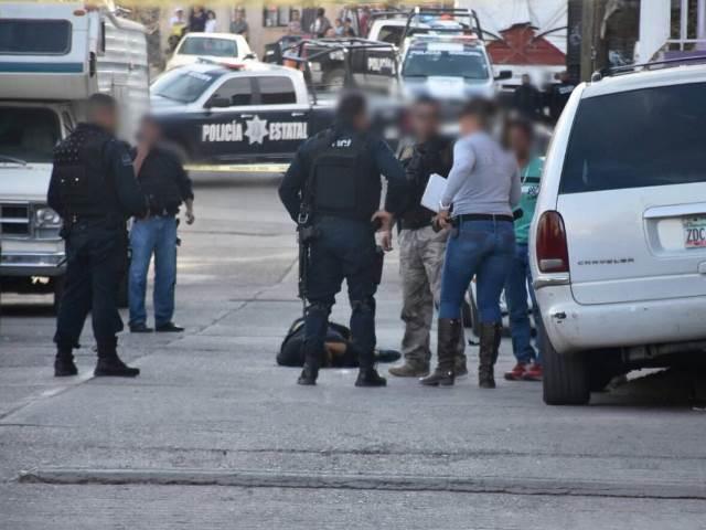 """¡De 2 balazos con un """"cuerno de chivo"""" ejecutaron a un joven en Guadalupe, Zacatecas!"""