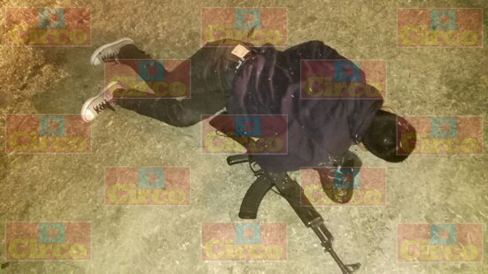 GALERIA/Enfrentamiento en Lagos de Moreno: 3 delincuentes abatidos y un policía estatal lesionado