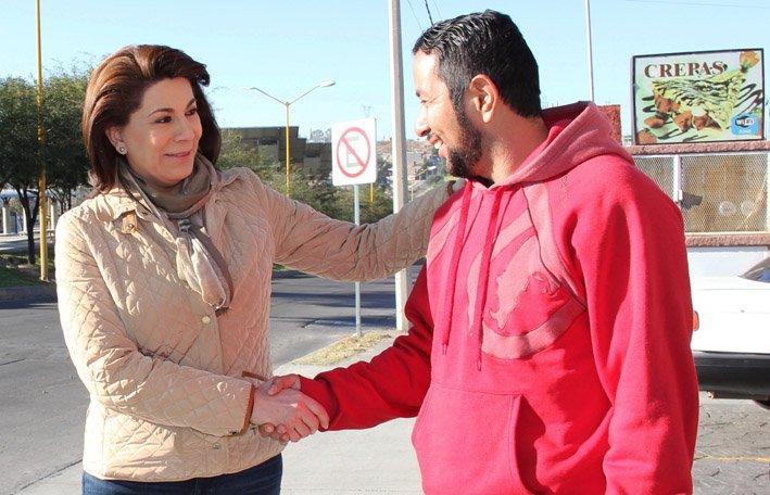 ¡Apuesta de Lorena Martínez es con los emprendedores y microempresarios!