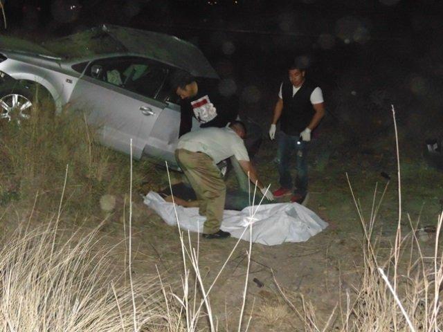 ¡Automovilista se mató tras estrellarse contra un árbol en Aguascalientes!