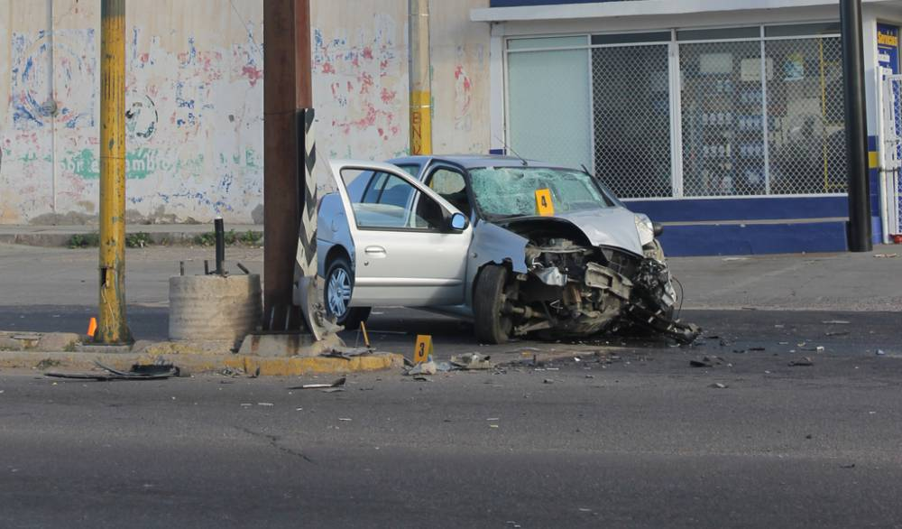¡Fatal doble accidente en Fresnillo: 1 muerto y 2 lesionados graves!