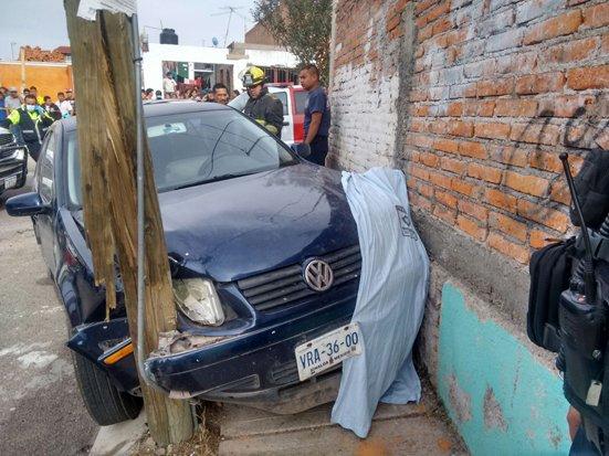 ¡Mueren dos niños aplastados por un auto conducido por alcoholizada mujer en Aguascalientes!