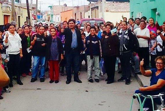 ¡José Luis de Lira con un cuerpo adelante para ser el candidato a la alcaldía de Rincón de Romos por el PANAL!