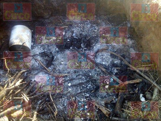¡Hallaron otros restos humanos calcinados en una narco-fosa en Lagos de Moreno!