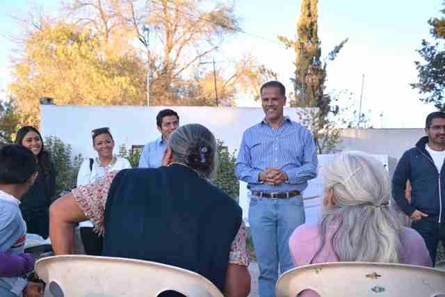 ¡Anuncia Antonio Arámbula pavimentación de acceso a comunidad de Los Ramírez en Jesús María!