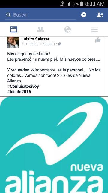 ¡El priista-lozanista Luis Salazar Mora se acomodó en el PANAL para una diputación!