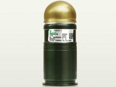 ¡Policía Federal y SEIDO detienen a sujeto con una granada de alto impacto calibre 40 milímetros!