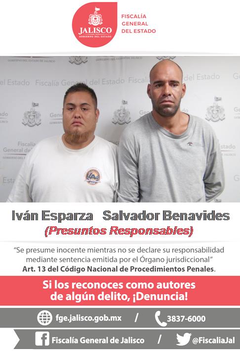 ¡Capturan a dos sujetos acusados de participar en dos asesinatos en Zapopan!