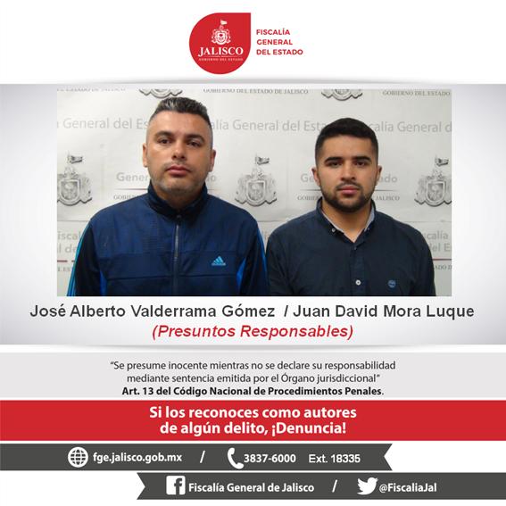 ¡Fiscalía de Jalisco investiga a dos colombianos por el delito de cohecho!