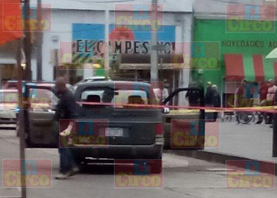 ¡Enfrentamiento entre grupos antagónicos en la zona centro de Calera, Zacatecas!