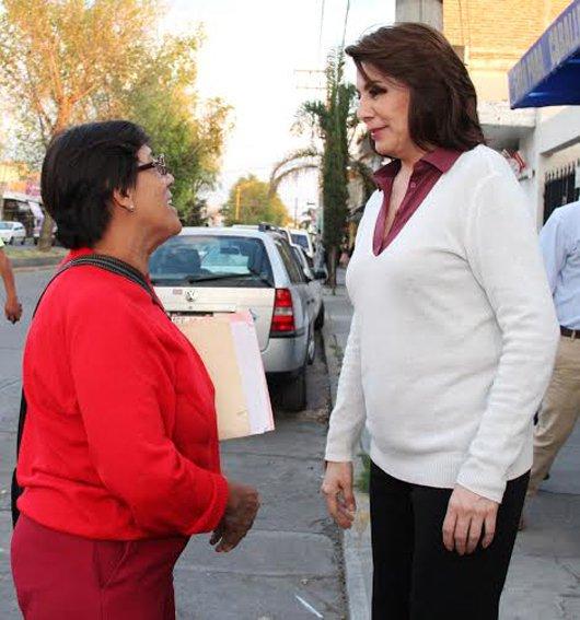 ¡Caminemos juntos por un Aguascalientes en desarrollo: Lorena Martínez!