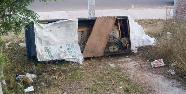¡Detuvieron a una pareja por el homicidio del encobijado que apareció dentro de un sillón en Aguascalientes!
