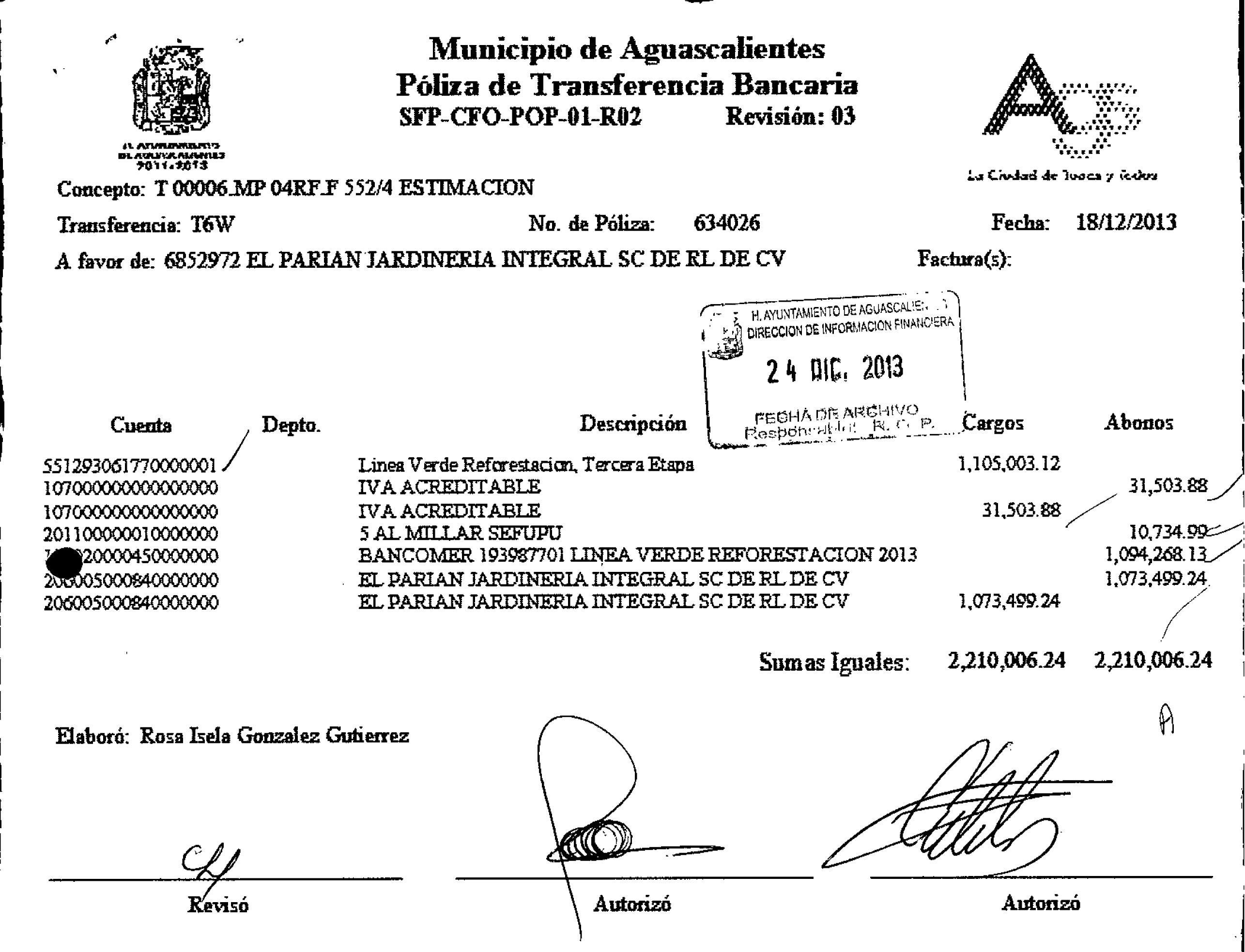 ¡Incumple empresa a la que le pagaron 32mdp por reforestar Linea Verde en la gestión de Lorena Martínez!