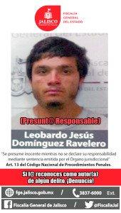 LEOBARDO JESUS DOMINGUEZ RAVELERO