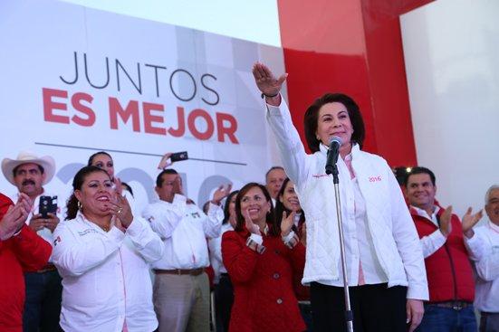 ¡Lorena Martínez es elegida candidata del PRI a la gubernatura de Aguascalientes!