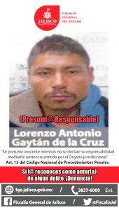 LORENZO ANTONIO GAYTAN DE LA CRUZ