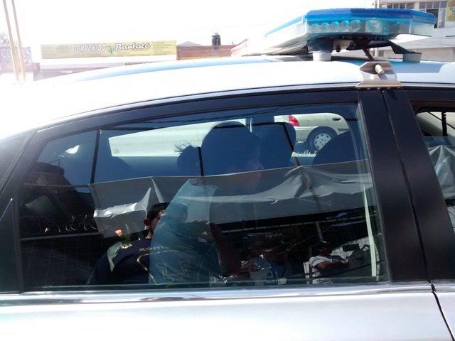 ¡Ebria policía municipal provocó un aparatoso accidente en Aguascalientes!