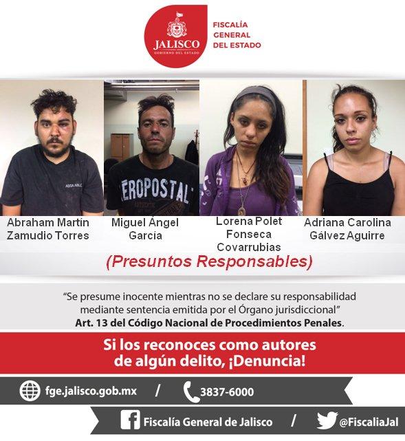 ¡Mandan a la cárcel a 4 personas acusadas de intentar robar a un bebe en Guadalajara!