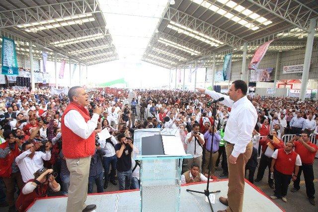 ¡Alejandro Tello es garantía de un gobierno con soluciones en serio: Manlio Fabio Beltrones!