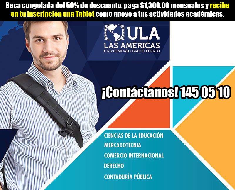 Únete a Universidad Las Américas en Aguascalientes!!!