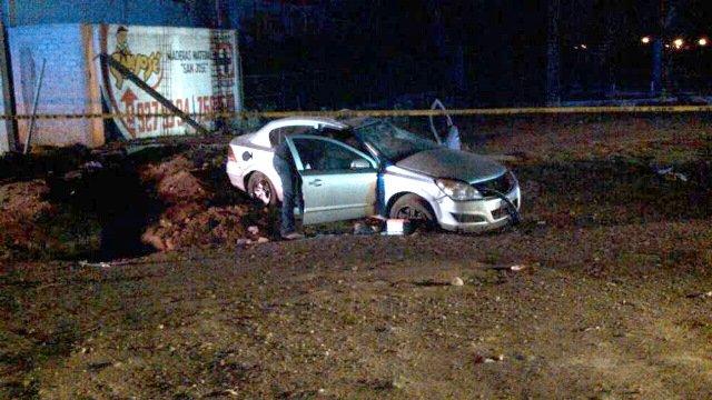 ¡Falla mecánica provocó la volcadura de un auto en Guadalupe, Zacatecas: 1 muerto!