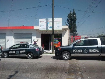 Solitario delincuente asaltó una agencia de viajes