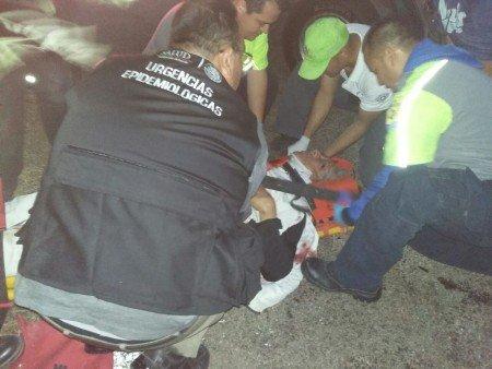 Un muerto y seis lesionados saldo de brutal choque