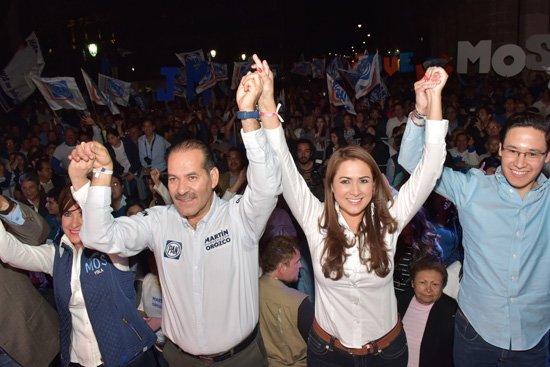 ¡Arranca Tere Jiménez y Martín Orozco su campaña – Fórmula Ganadora!