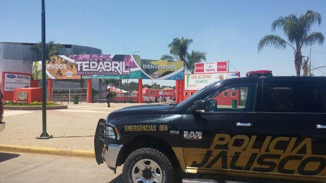 ¡Fiscalía General de Jalisco aseguró droga en el palenque de la Feria de Tepatitlán!