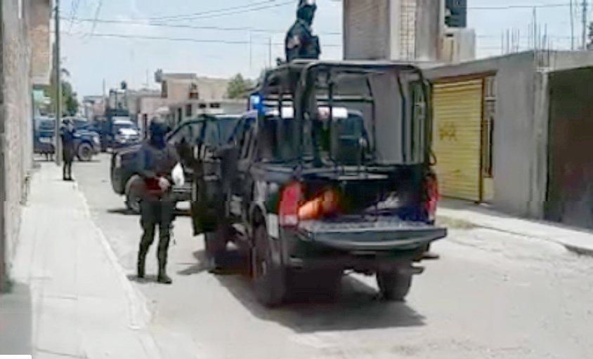 ¡Delincuentes agreden a policía en Fresnillo, Zacatecas!