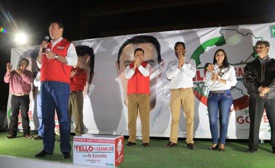 ¡En Tacoaleche Tello pide a la gente su confianza para gobernar Zacatecas!