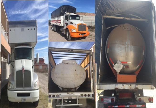 ¡En distintos municipios, Fuerza Única recupera camiones, automóviles y motocicletas robadas!