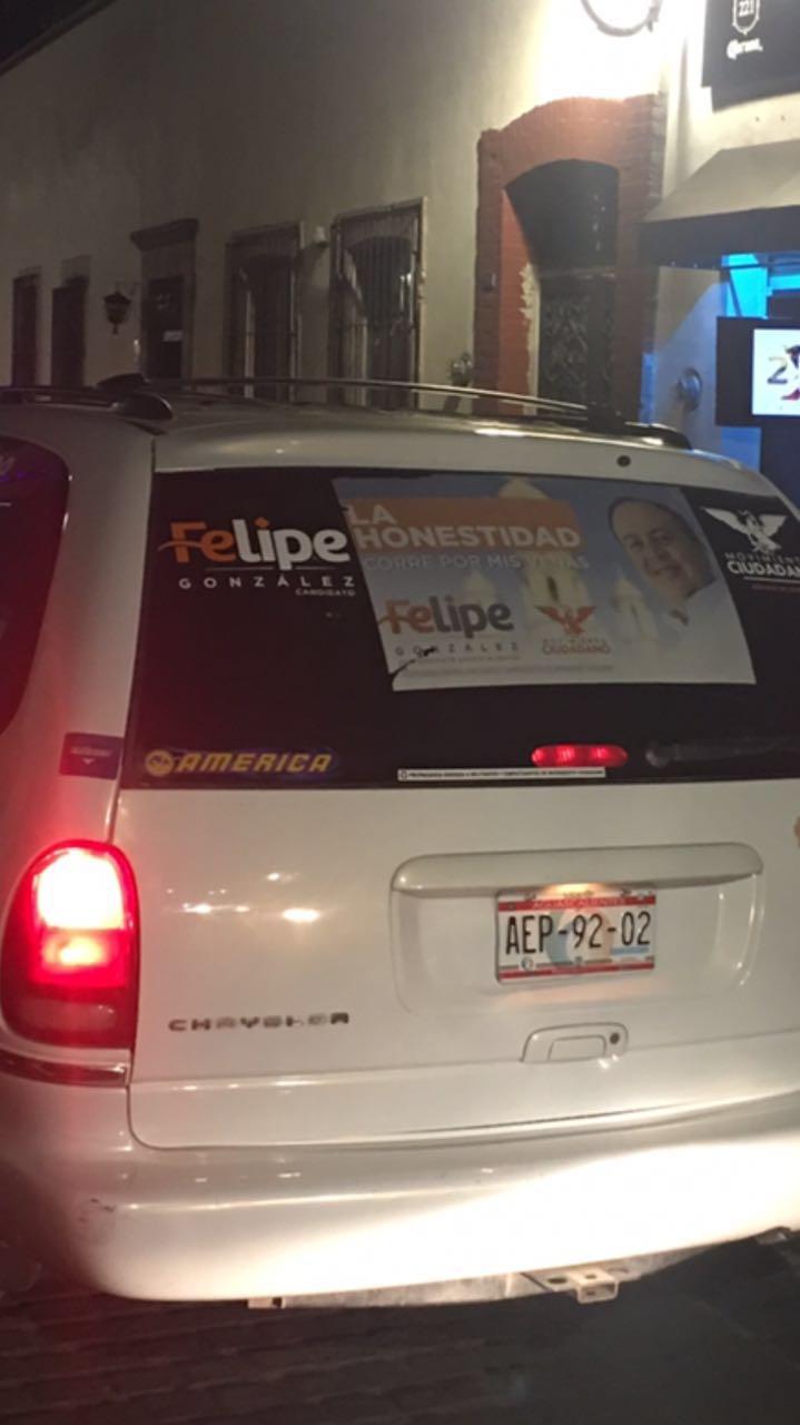 ¡MC realiza actos anticipados de campaña en Aguascalientes!