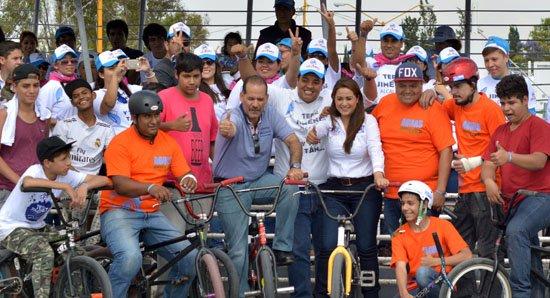 ¡Promoveré el deporte para los jóvenes: Tere Jiménez!